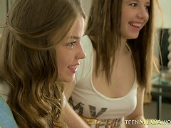 Teen Girlfriends With Beautiful Perky Tits Have Erotic Sex Porn Videos